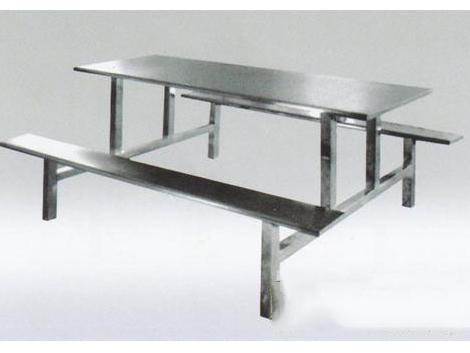 不锈钢平板餐桌