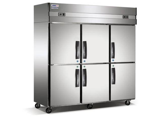 六门双温双机冰柜